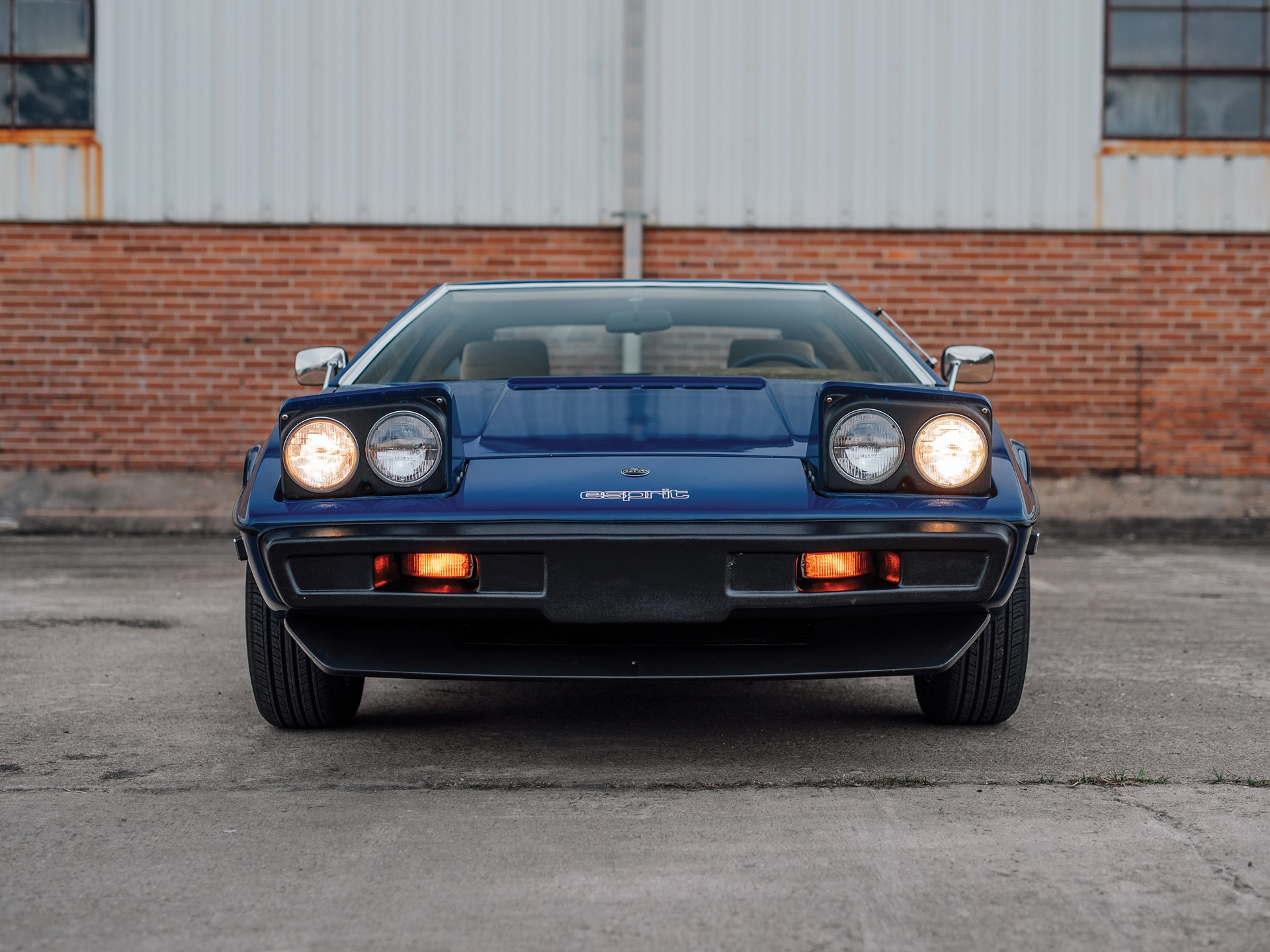1977 Lotus Esprit Series 1 front end