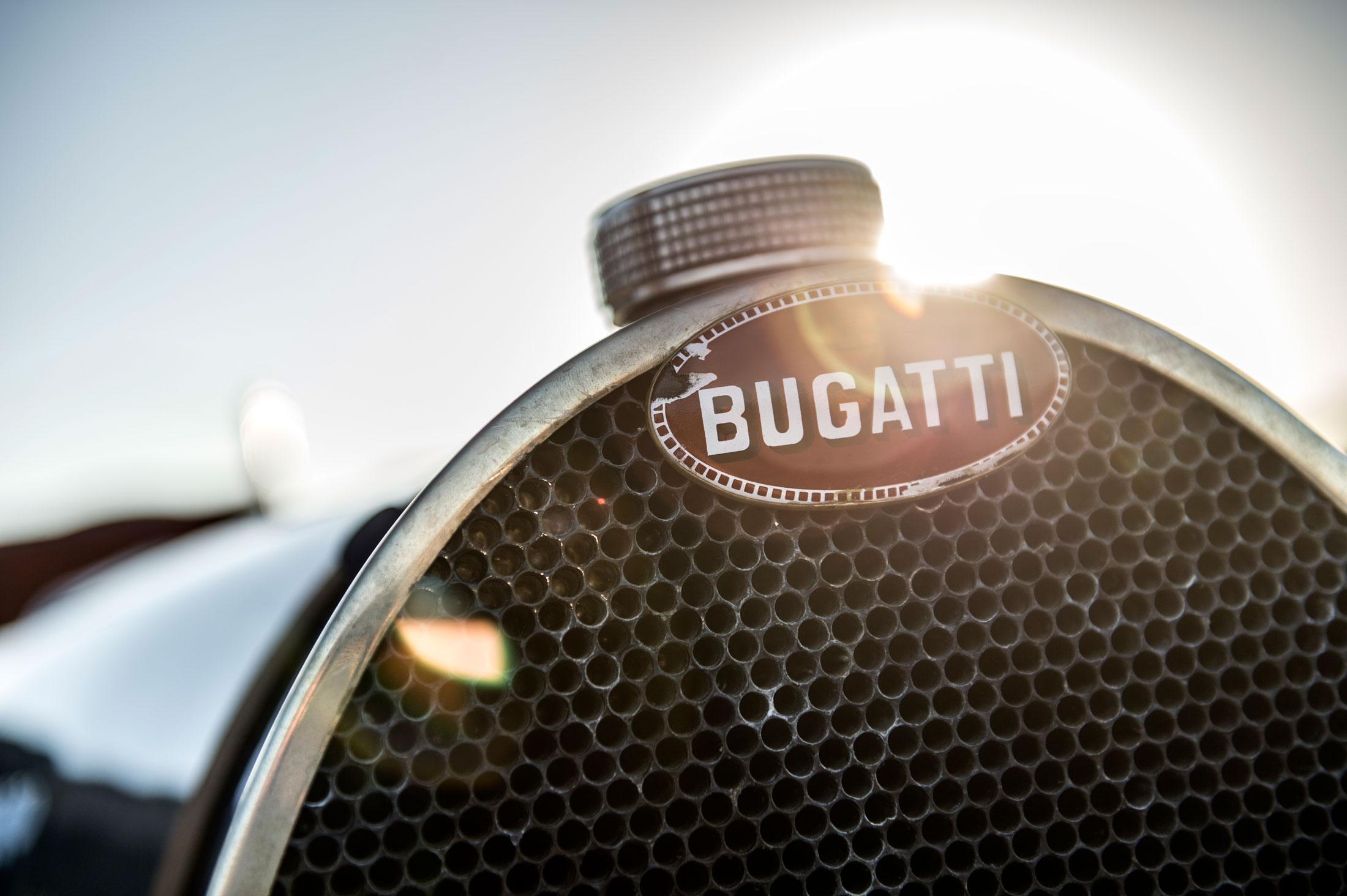 Pur Sang Bugatti Type 35 badge