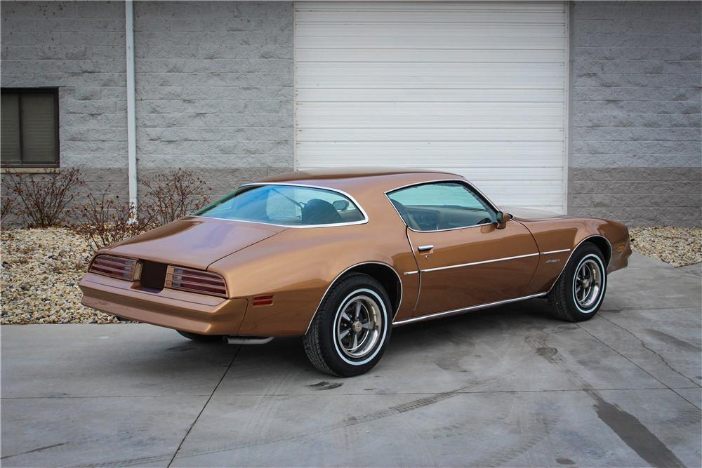 "1978 Pontiac Firebird Formula ""The Rockford Files"" rear 3/4"