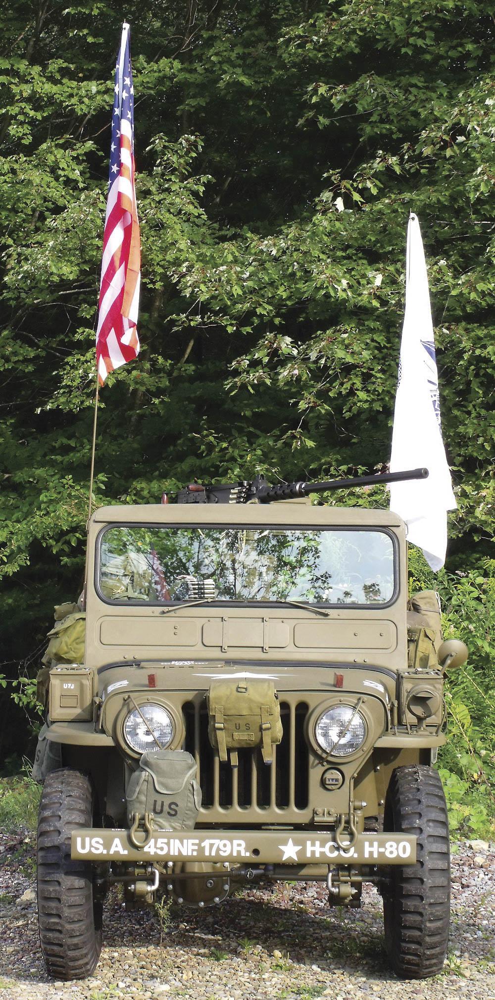 1952 Willys M38 Korean War Jeep front