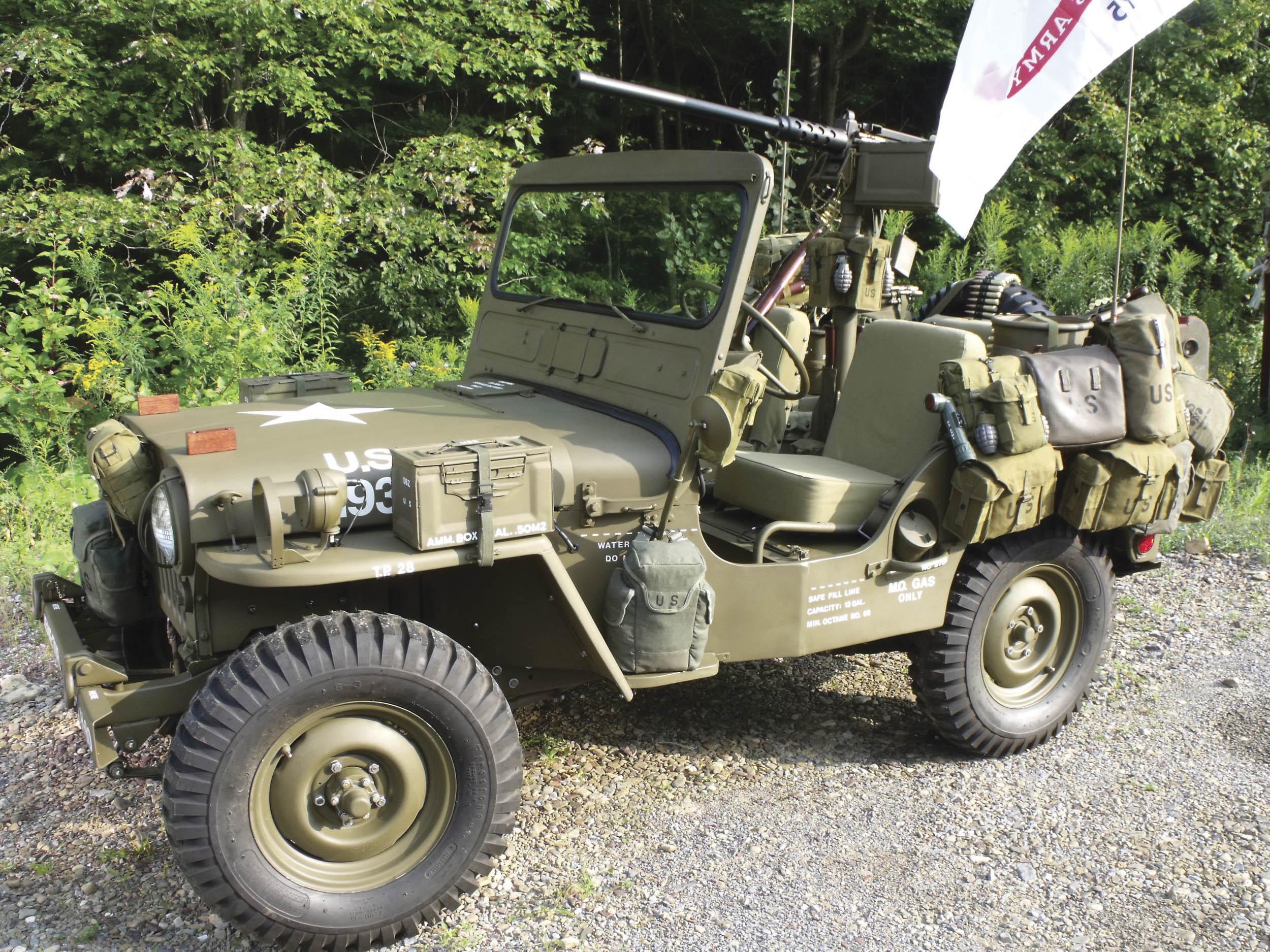 1952 Willys M38 Korean War Jeep