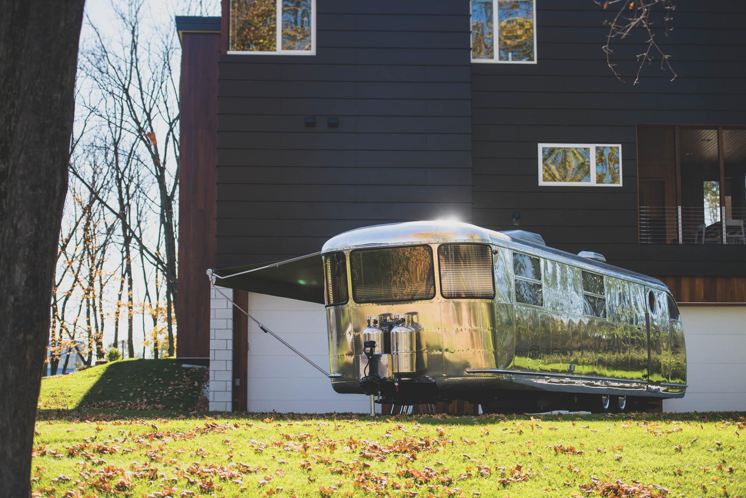 1951 Spartan Royal Mansion trailer