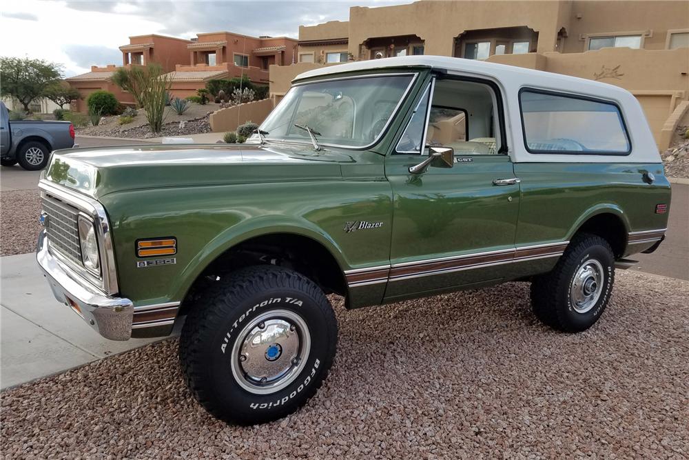 1972 Chevrolet K5 Blazer 3/4 front