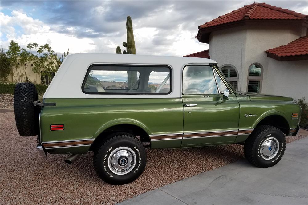 1972 Chevrolet K5 Blazer side profile