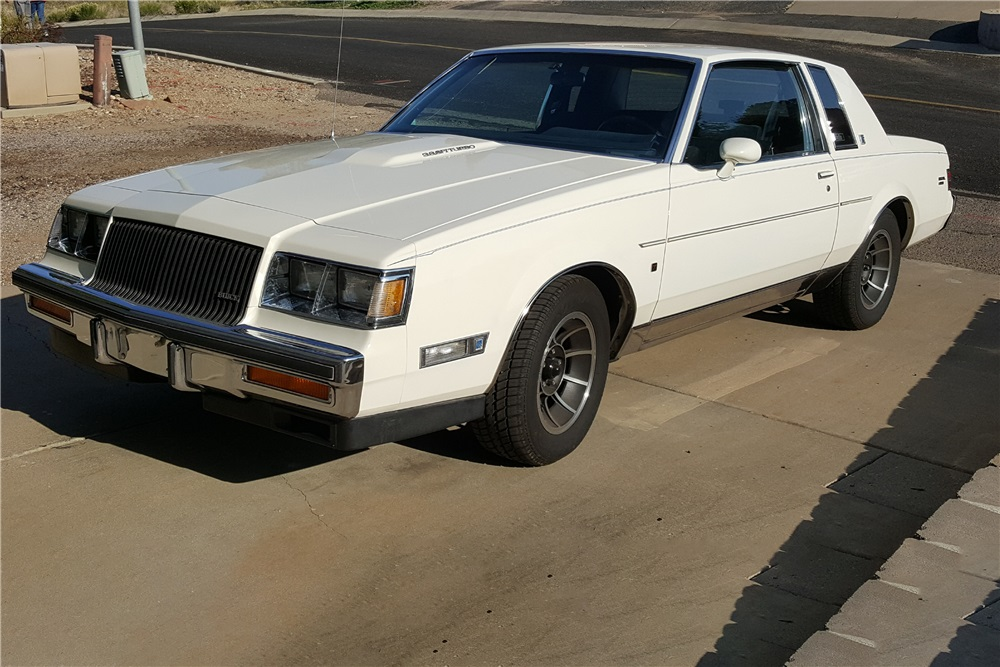 1987 Buick Regal T-Type Turbo Limited