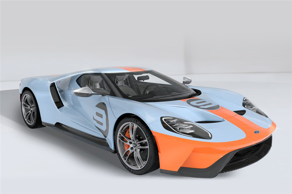 2019 Ford GT Heritage