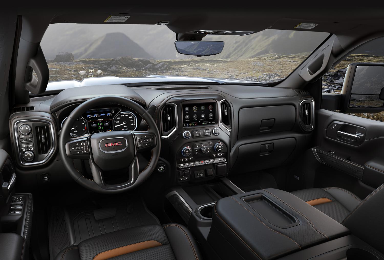 2020 GMC Sierra 2500HD interior driver