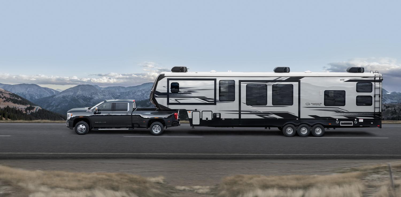 2020 GMC Sierra 2500HD camper side profile