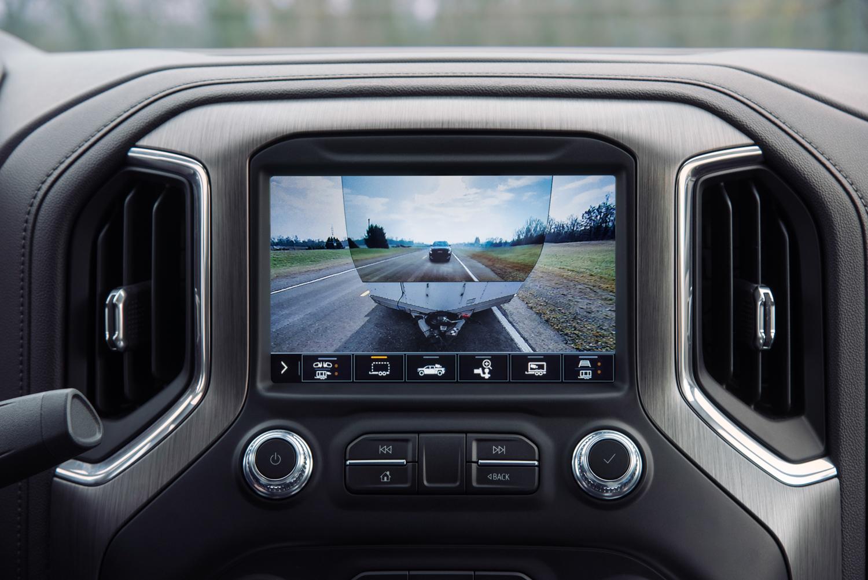 2020 GMC Sierra HD transparent trailer
