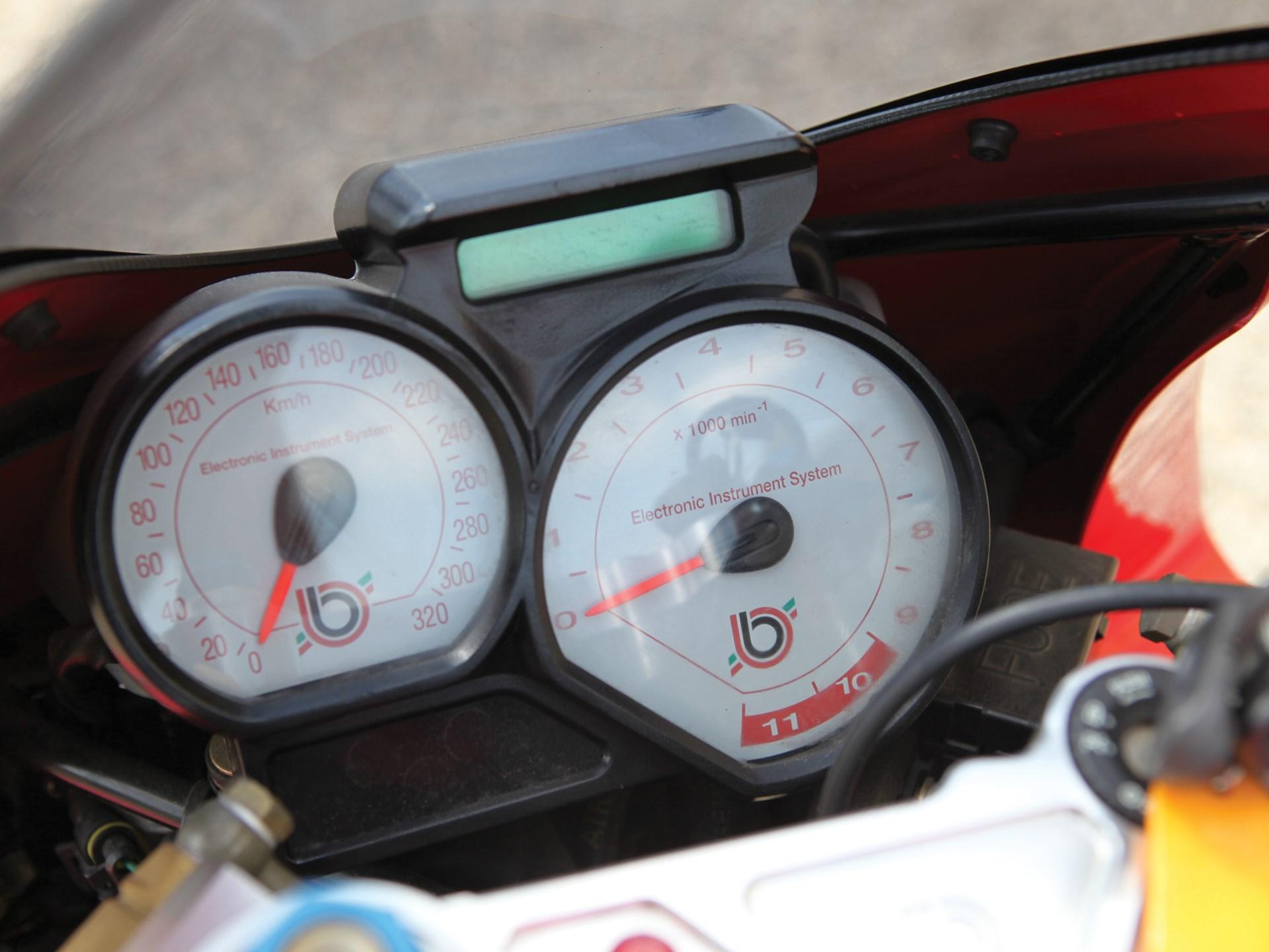 1998 Bimota V-Due 500 gauges