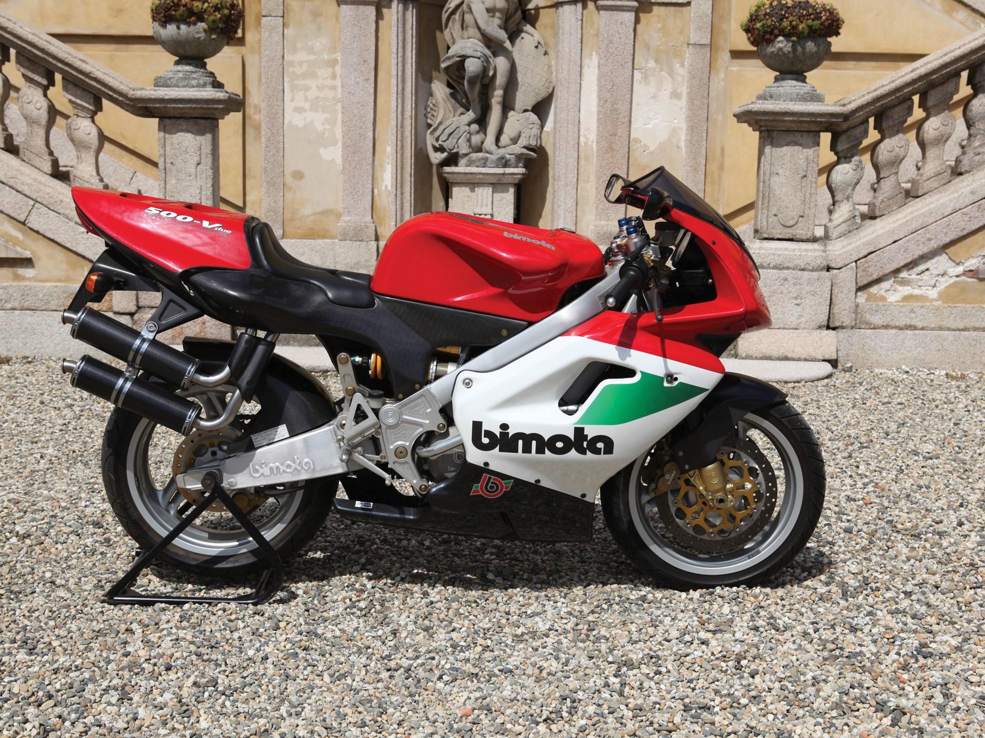 1998 Bimota V-Due 500 right side