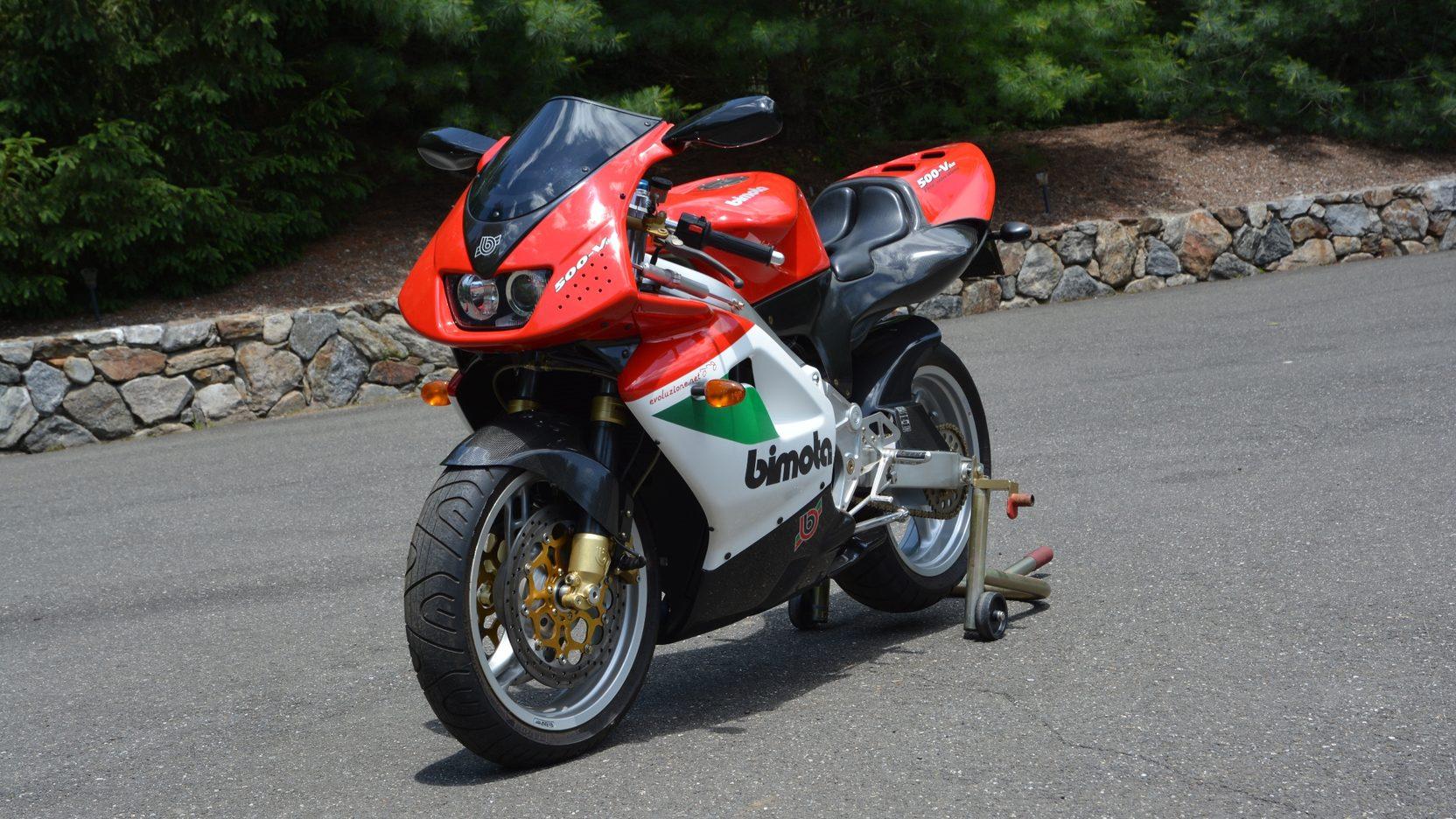 1999 Bimota V-Due 500 3/4 front