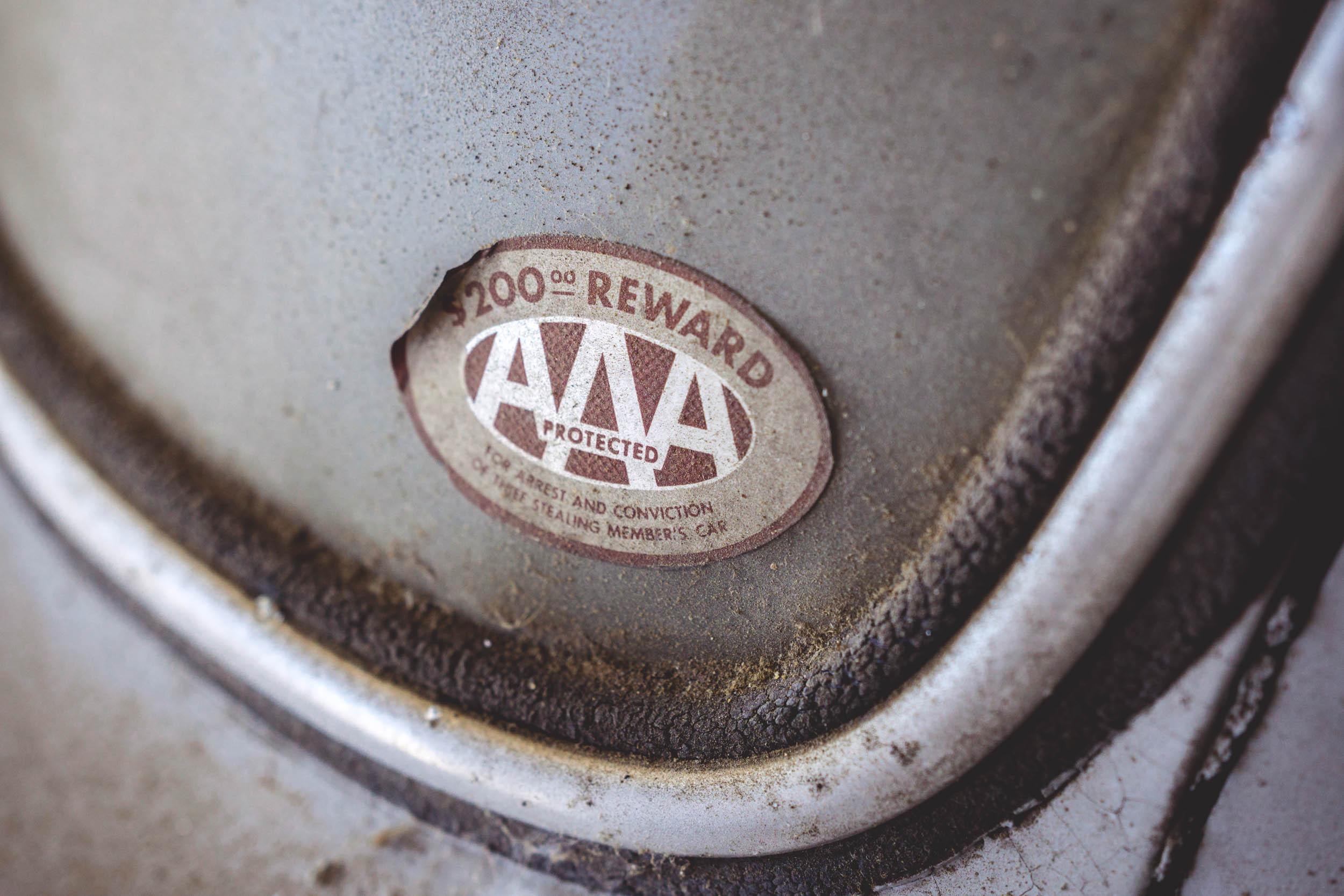 1954 Mercedes-Benz 300SL Gullwing AAA sticker