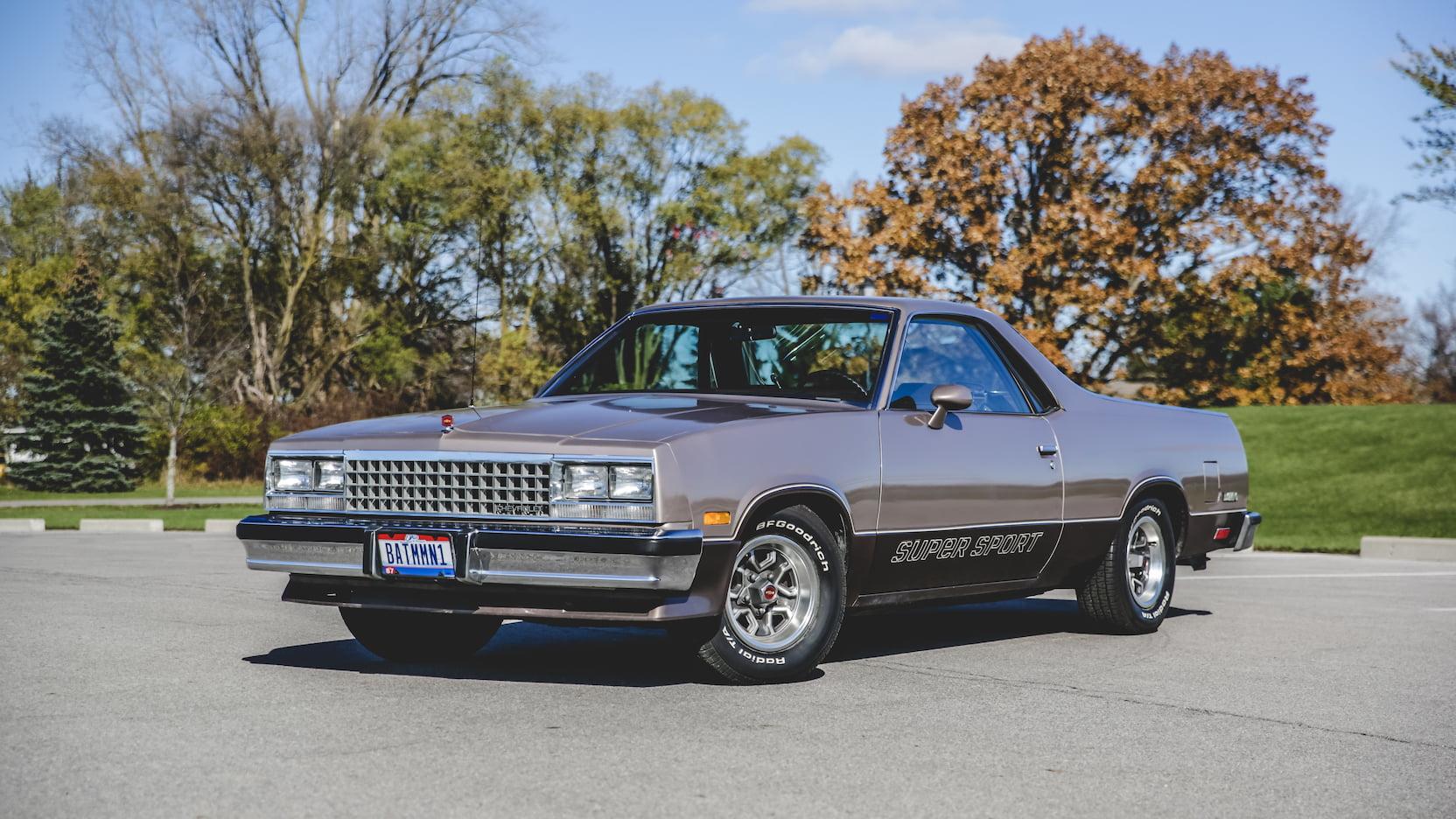 1983 Chevrolet El Camino SS 3/4 front