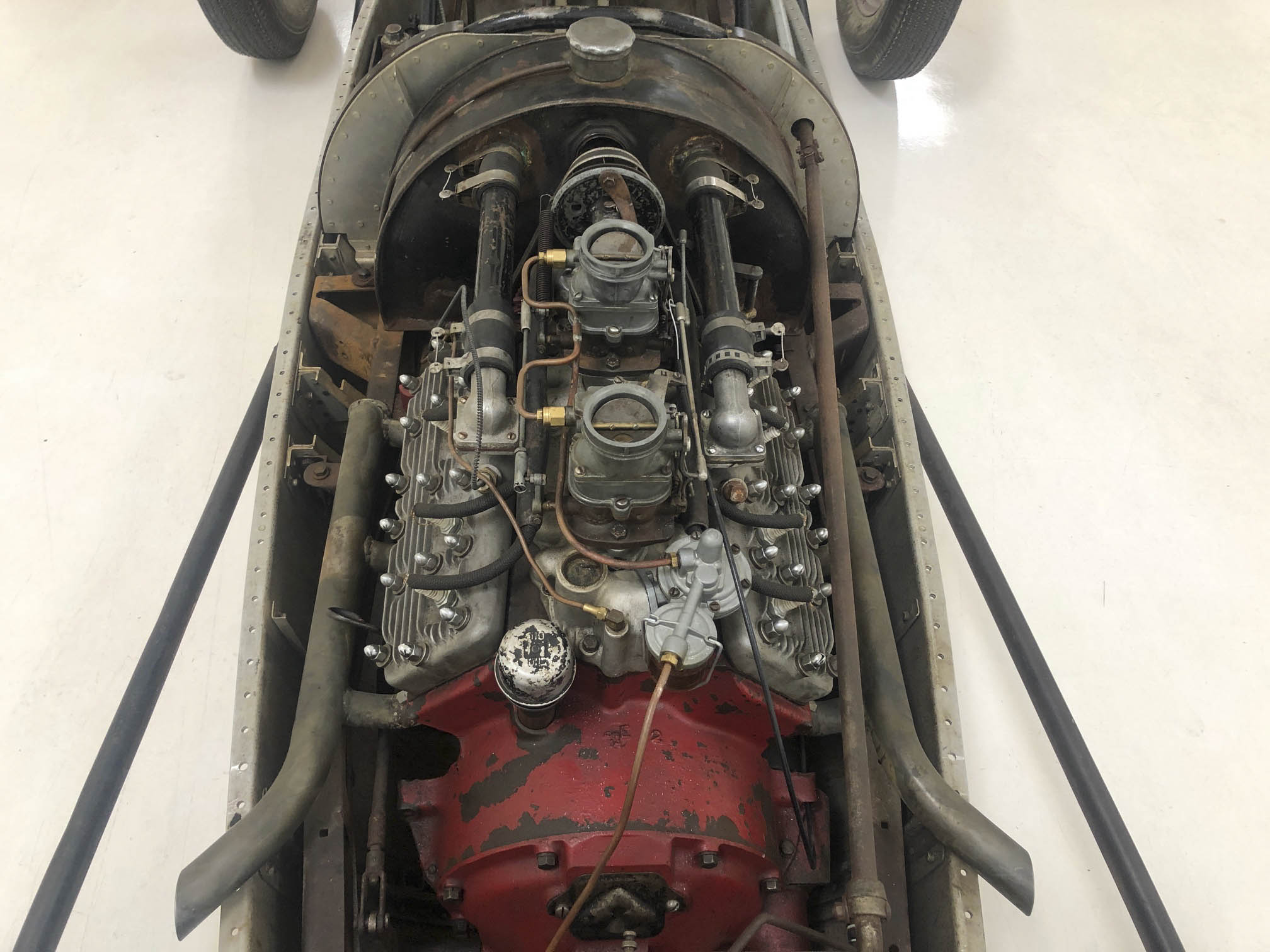 1949 Belly Tank Lakester engine