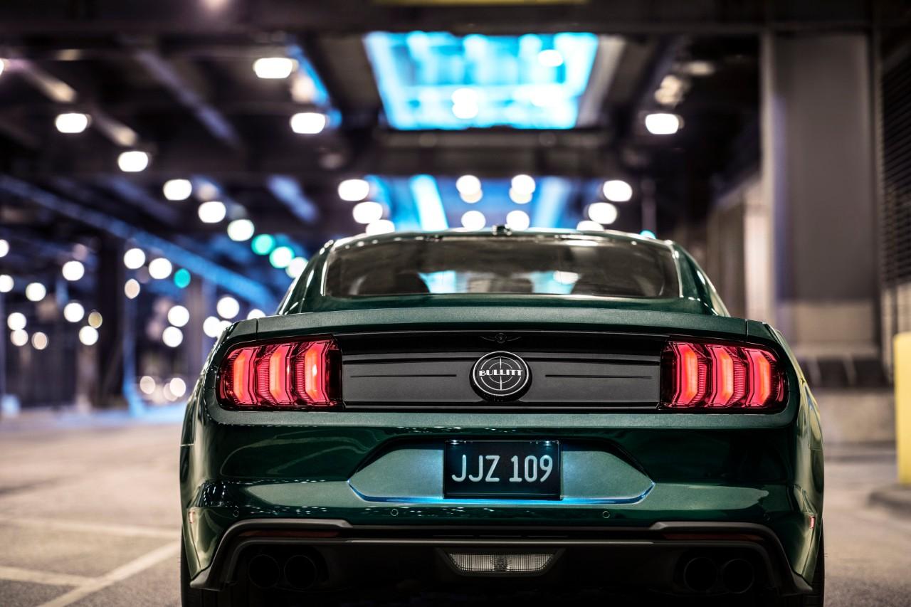 2019 Ford Mustang Bullitt taillights