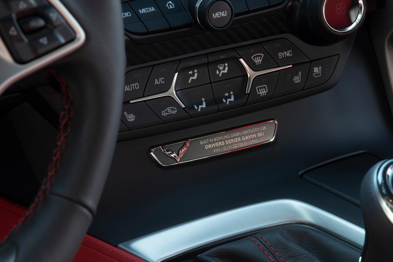 "2019 Chevrolet Corvette ""Drivers Series"" interior"