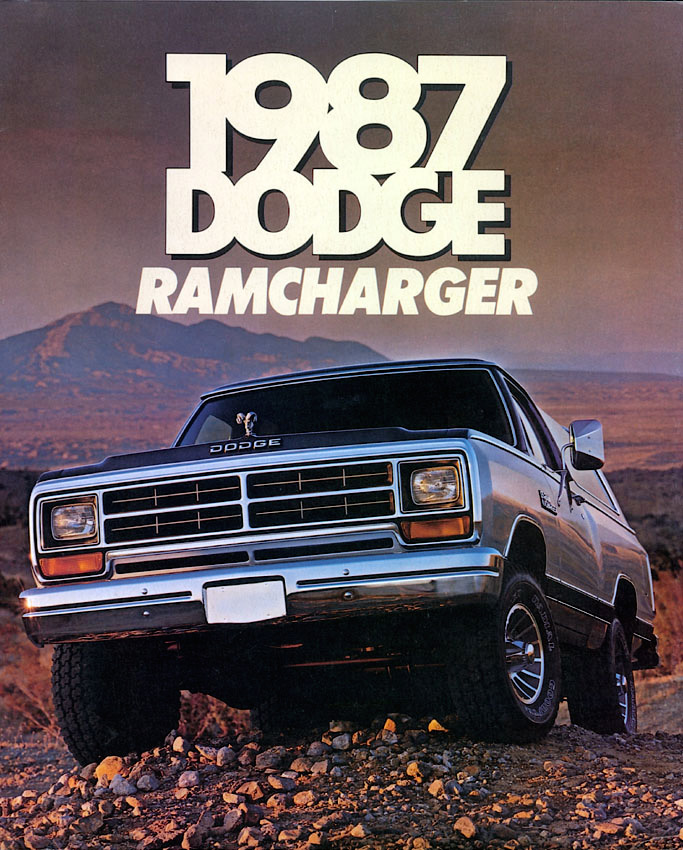 1987 Dodge Ramcharger off road ad