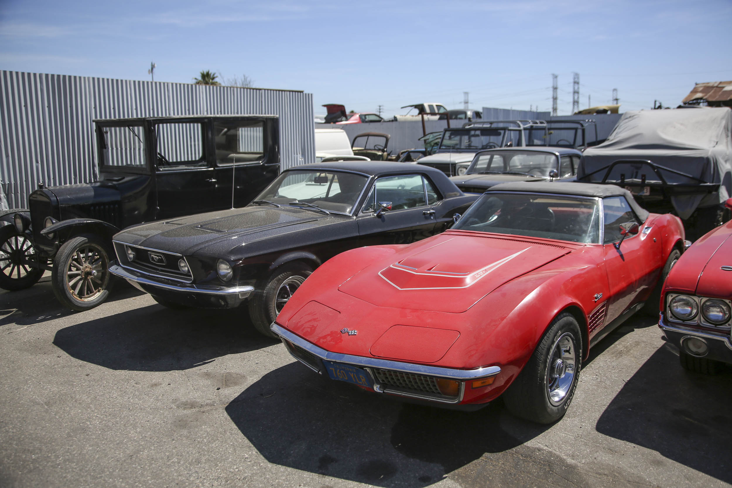 Picture Car Warehouse corvette and mustang