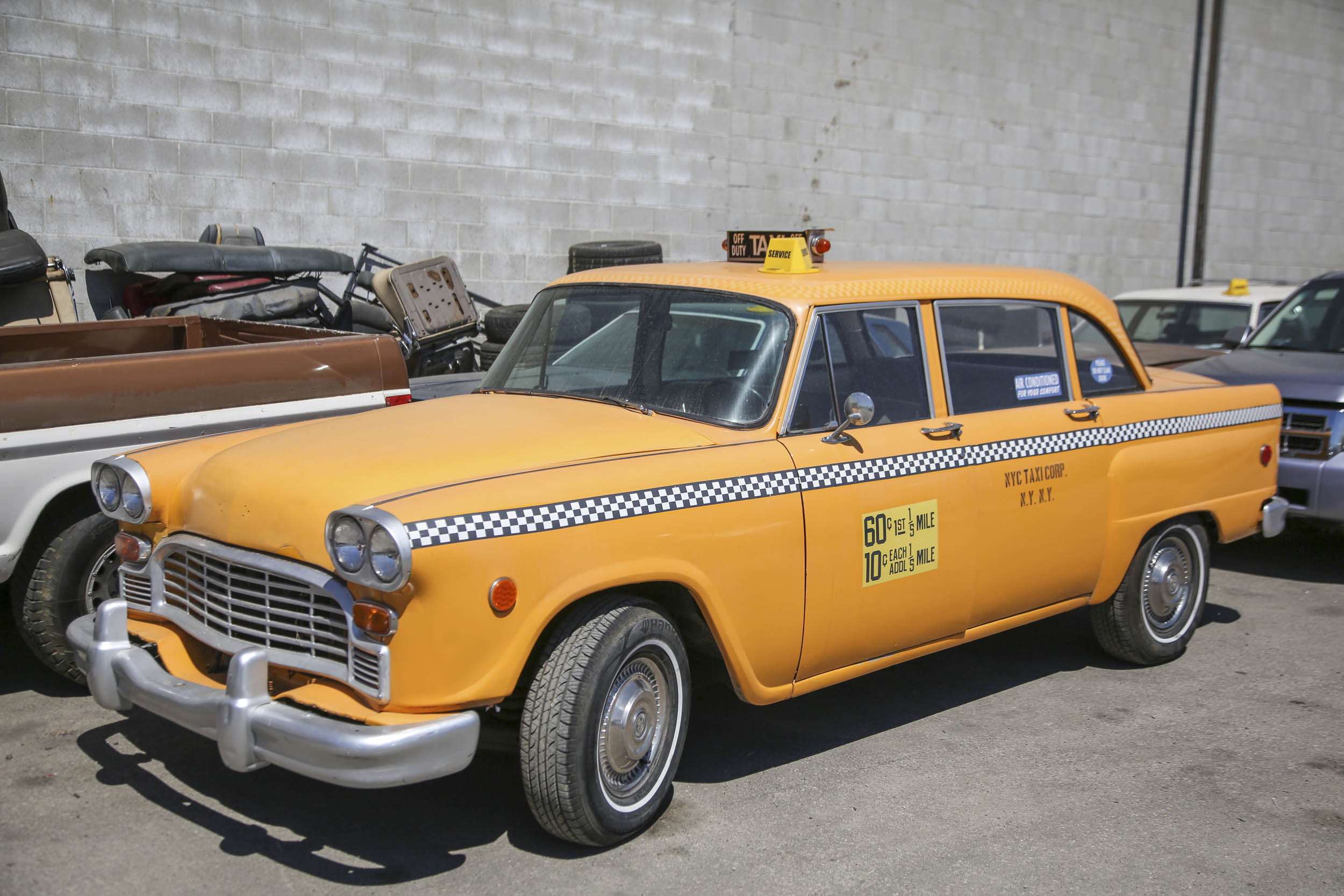 Picture Car Warehouse taxi
