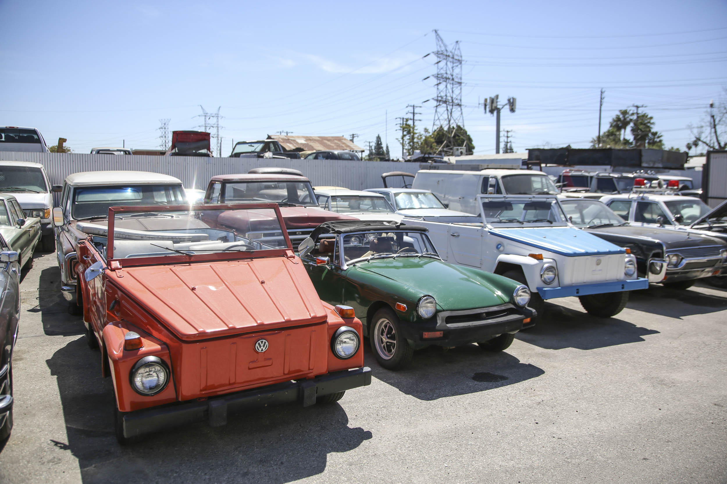 Picture Car Warehouse VW Thing and MGB
