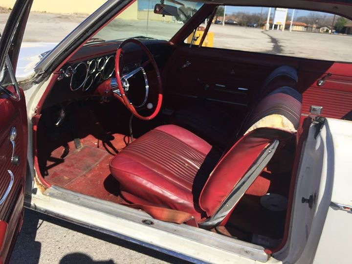 The blazing Texas sun had not been nice to the 53-year-old interior materials.