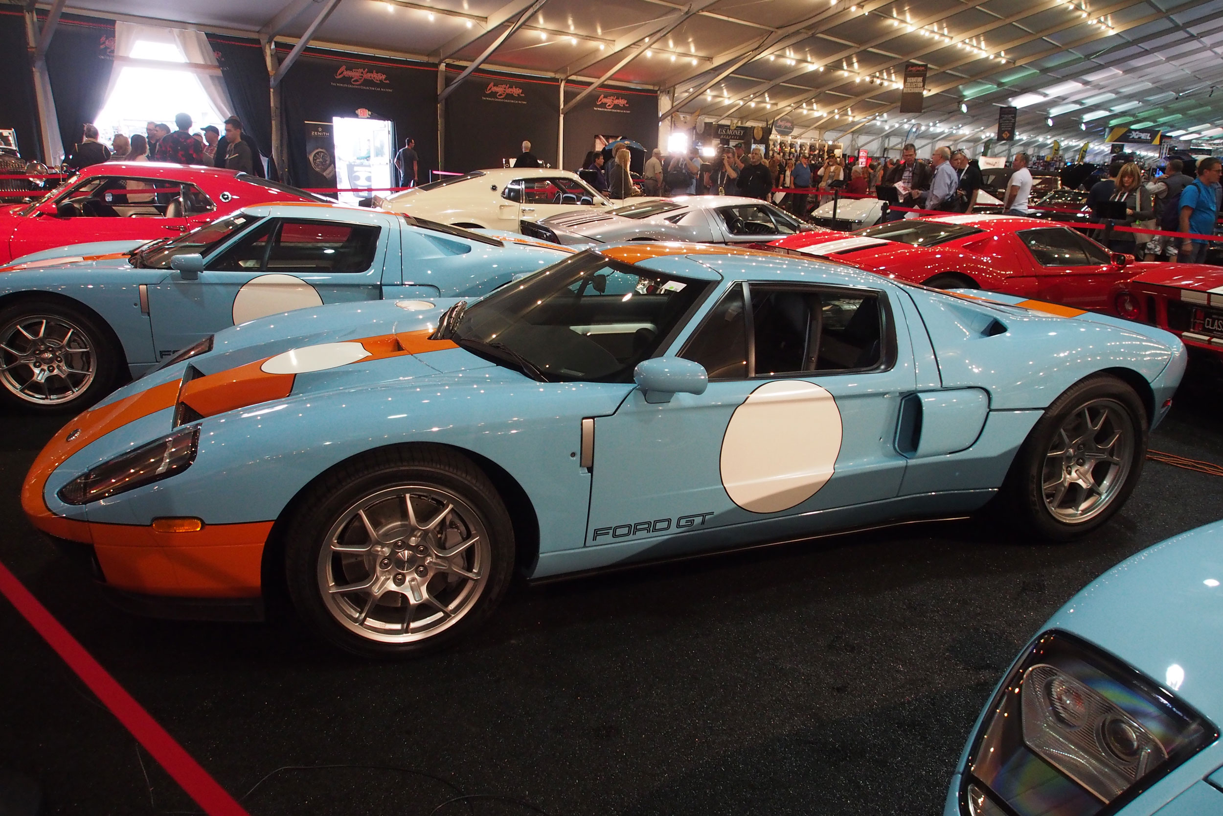2006 Ford GT Heritage Edition at Barrett-Jackson