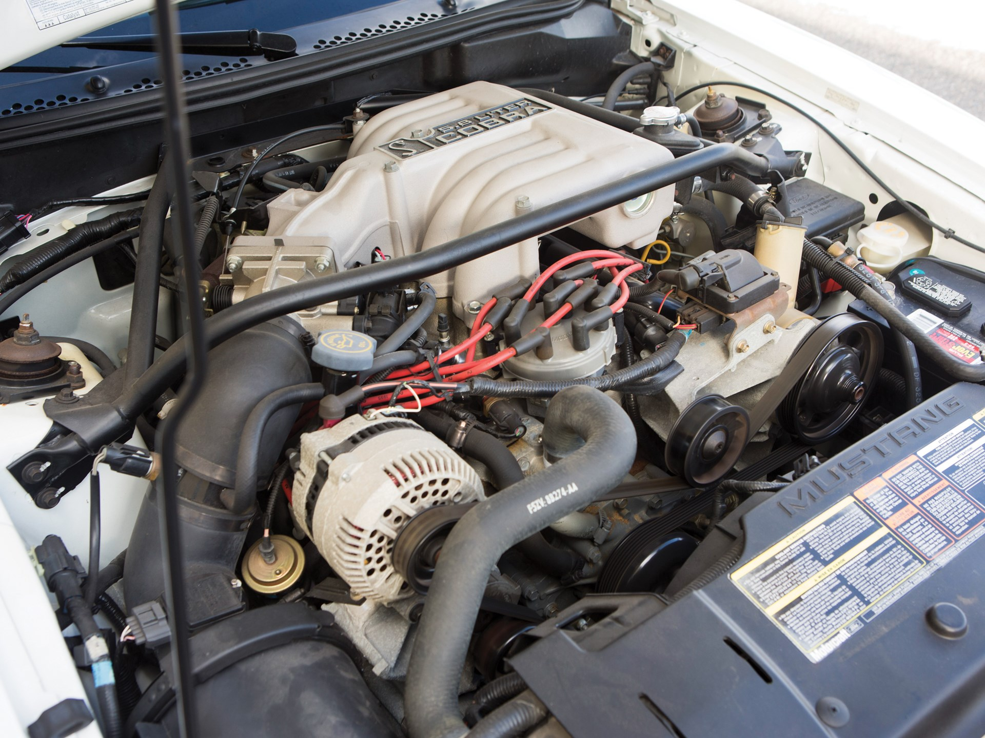 1995 Ford Mustang SVT Cobra R engine