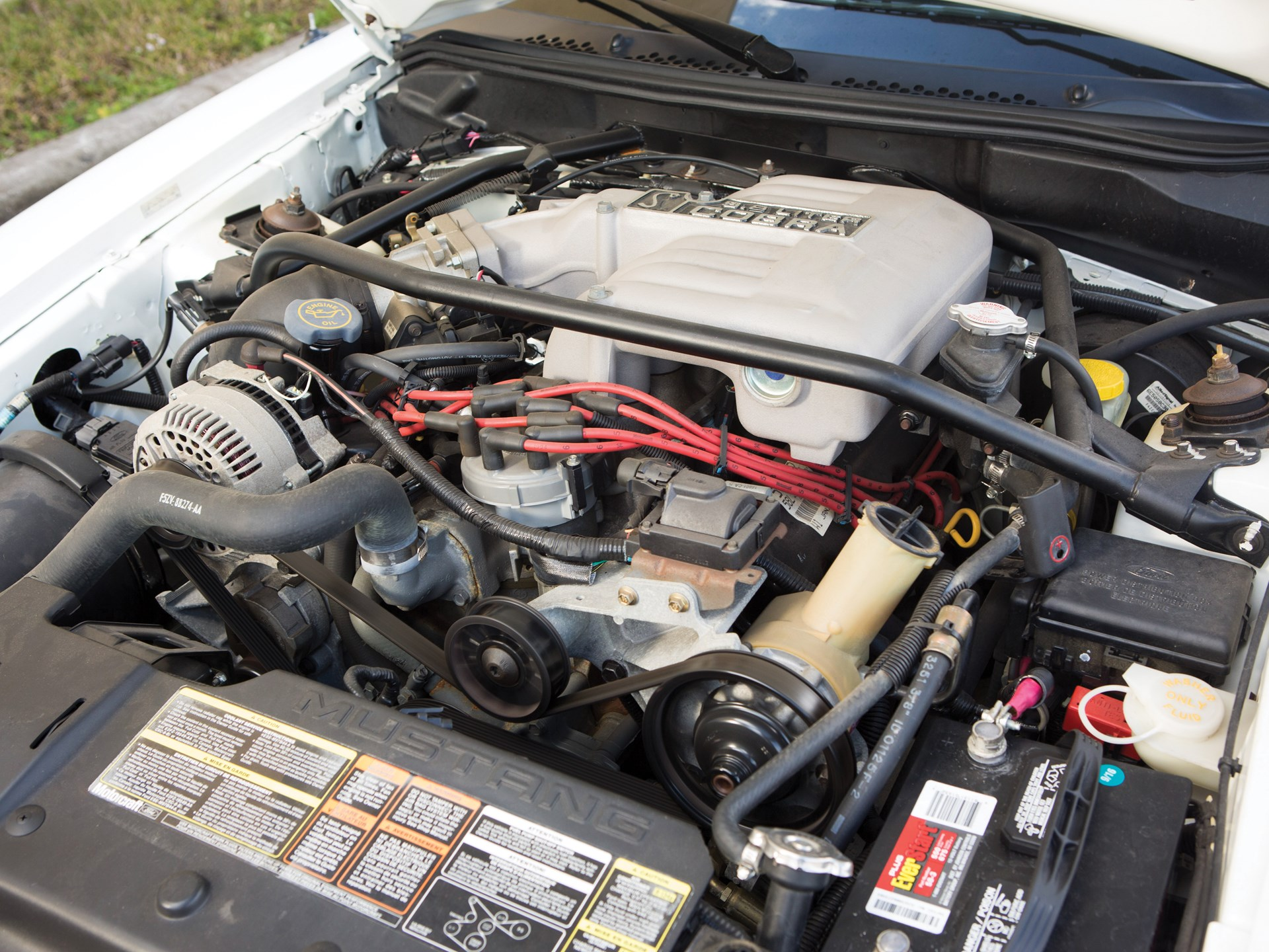 1995 Ford Mustang SVT Cobra R engine 5.8 liter