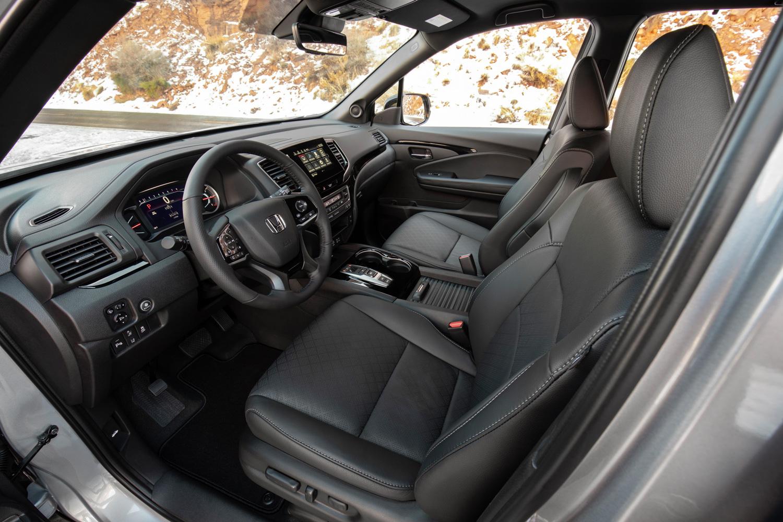 2019 Honda Passport interior driver seat