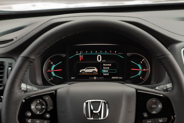 2019 Honda Passport gauges