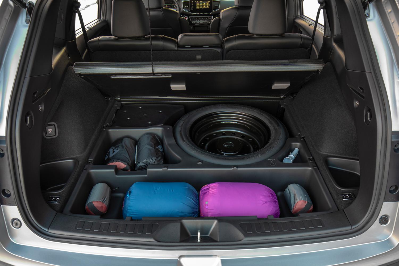 2019 Honda Passport underfloor storage rear