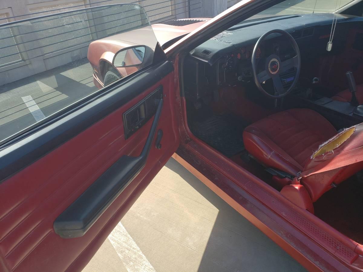 1986 Chevrolet Camaro Z28 interior driver