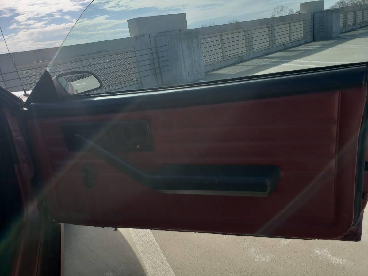 1986 Chevrolet Camaro Z28 passenger door