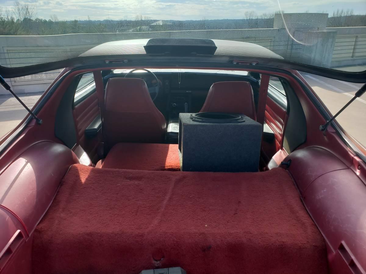 1986 Chevrolet Camaro Z28 rear hatch