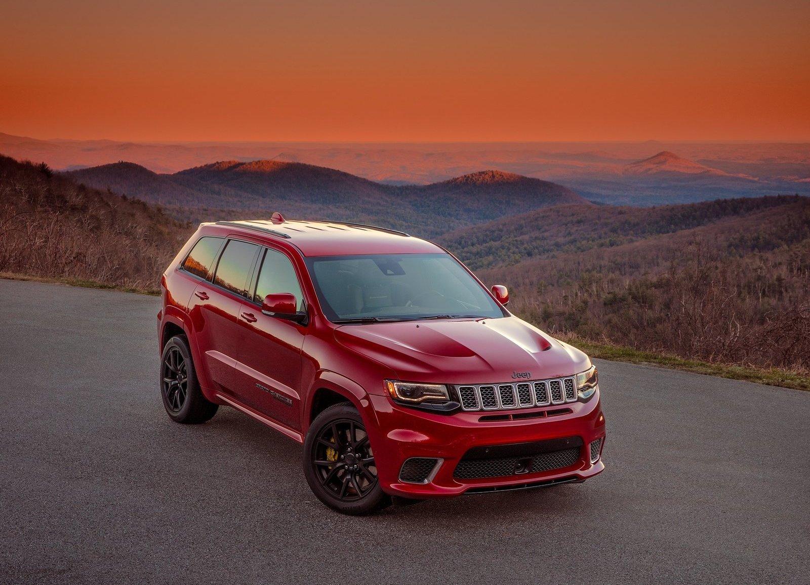 2018 Jeep Grand Cherokee SRT TrackHawk