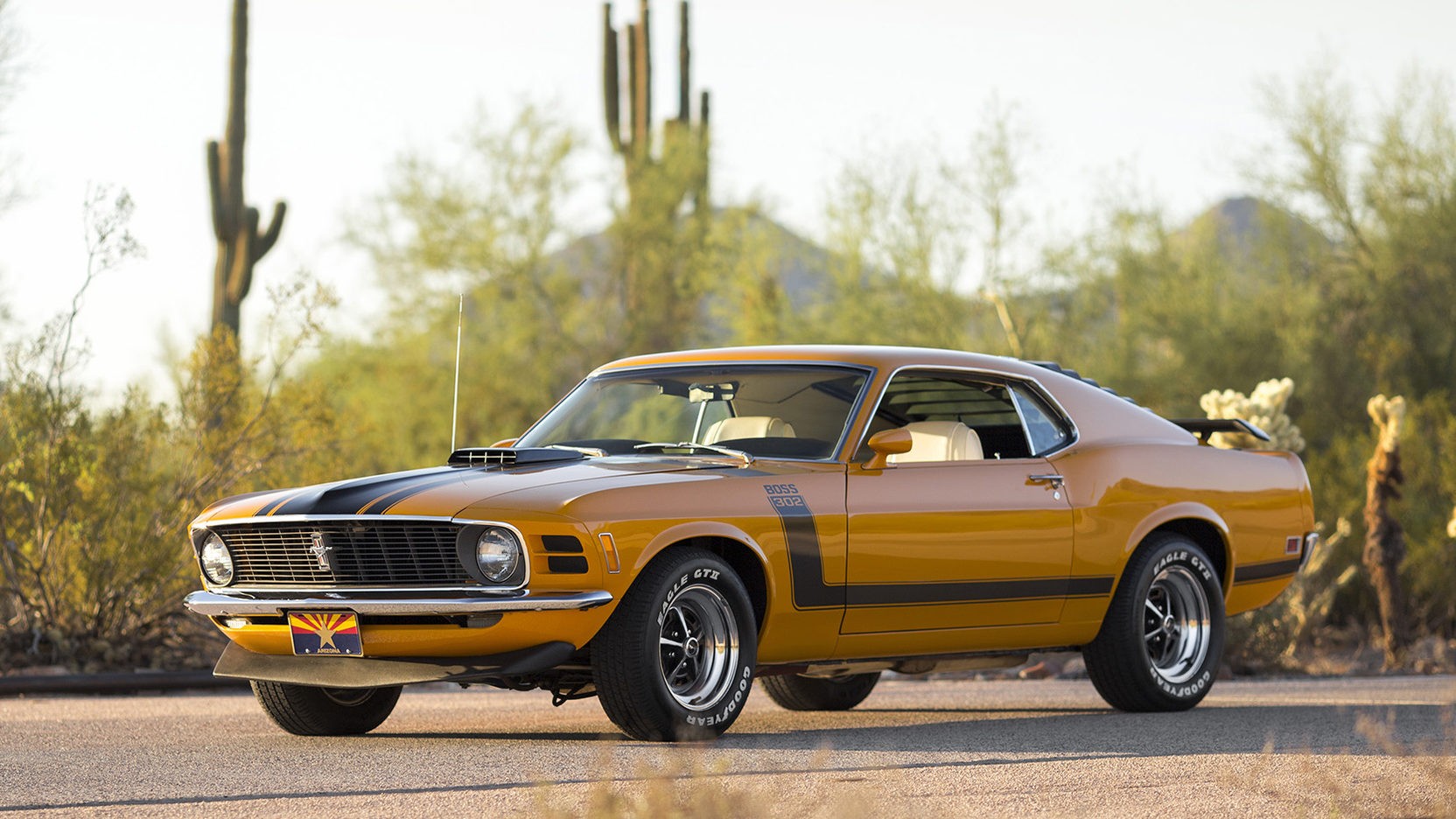 1970 Ford Mustang Boss 302 3/4 front