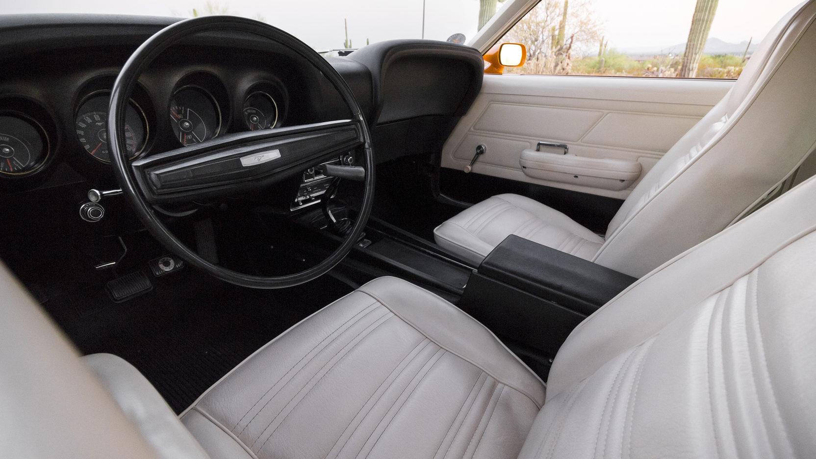 1970 Ford Mustang Boss 302 interior