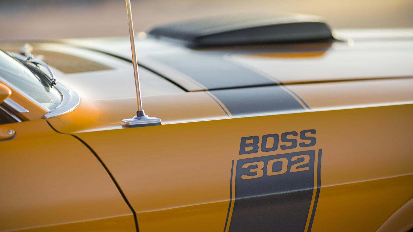 1970 Ford Mustang Boss 302 quarter panel