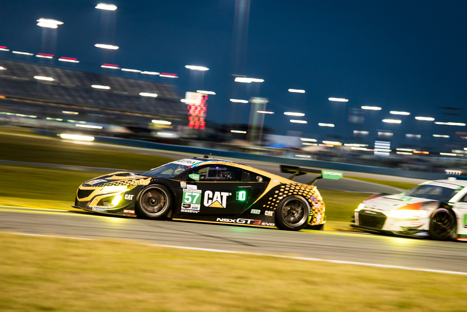 The all-female team of drivers piloting this Acura NSX GT3 were a force to be reckoned with in the GT Daytona class.