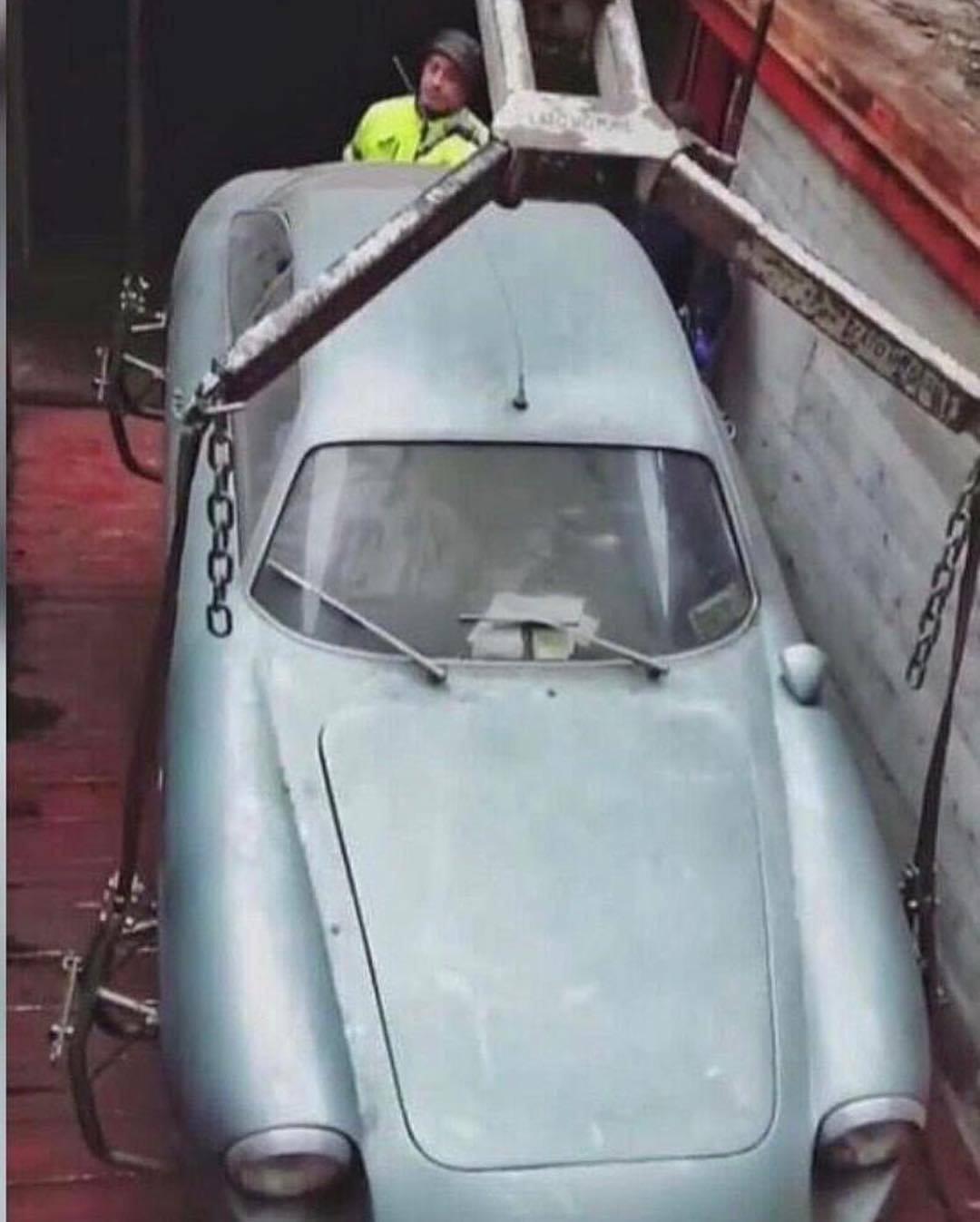 1962 Alfa Romeo Giulietta SZ found underground