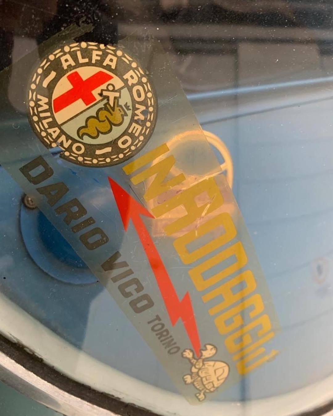 1962 Alfa Romeo Giulietta SZ underground glass