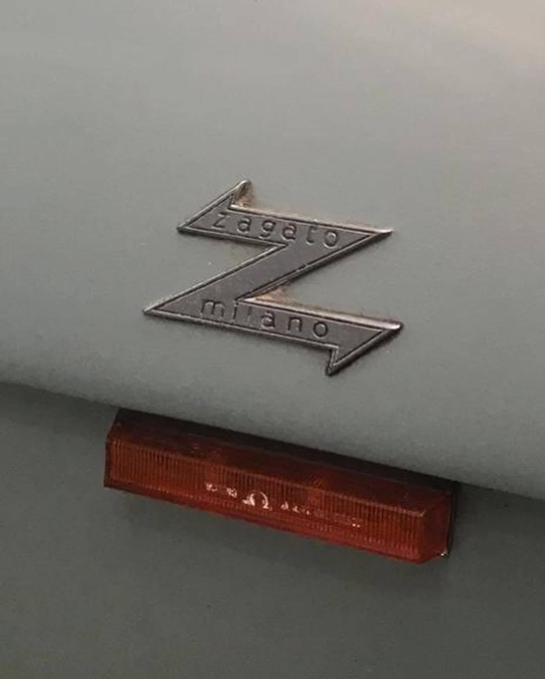 1962 Alfa Romeo Giulietta SZ underground badge