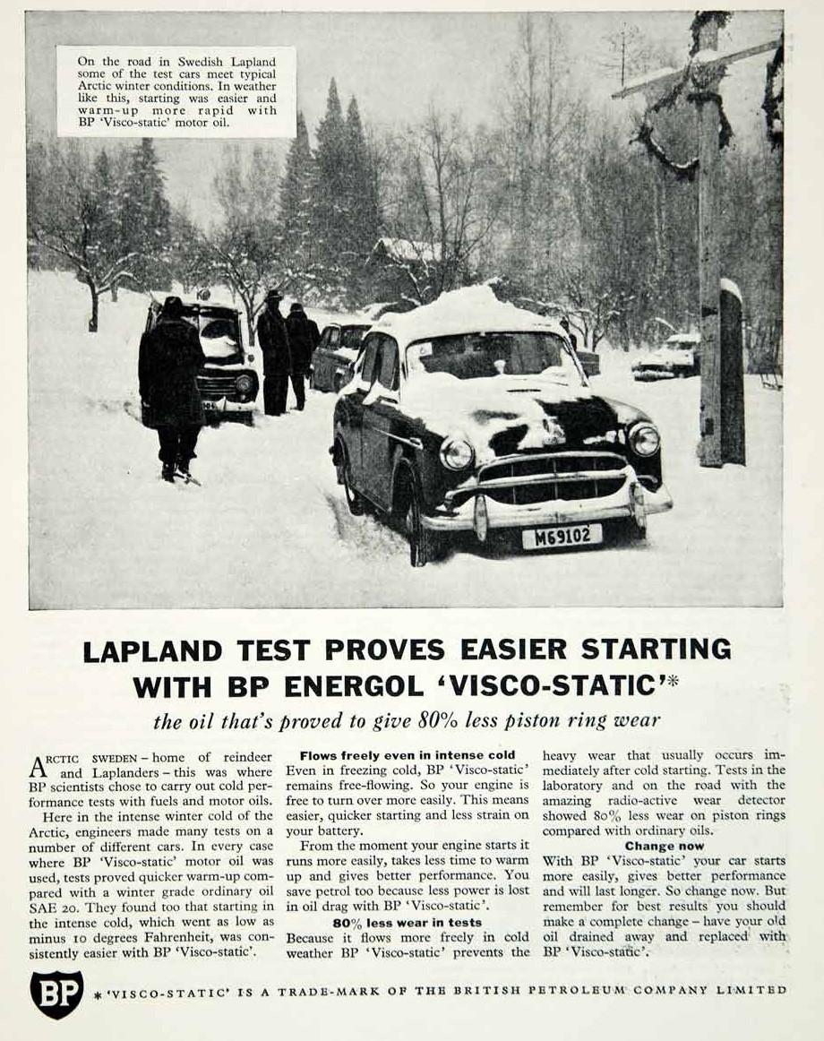 BP winter gas ad