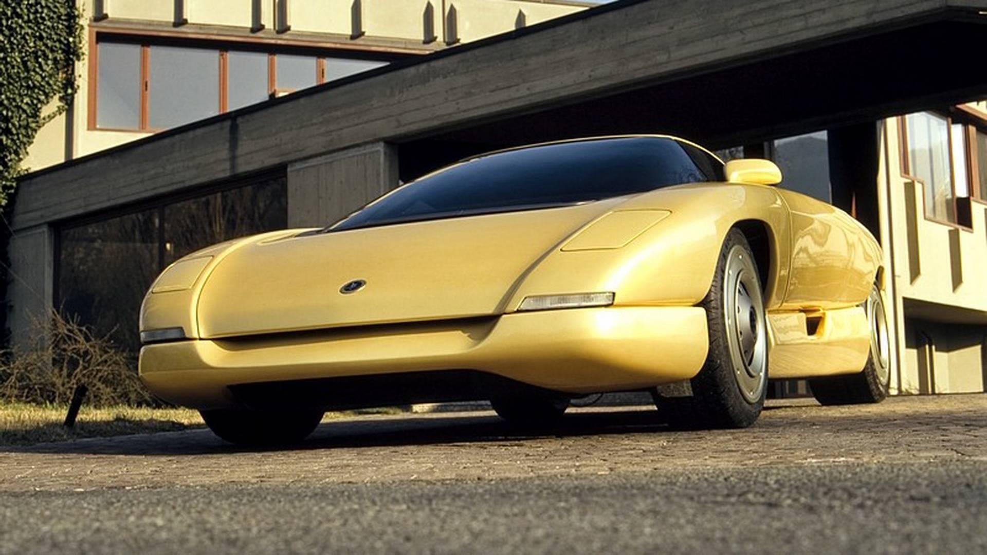 1990 Bertone Nivola concept low front end