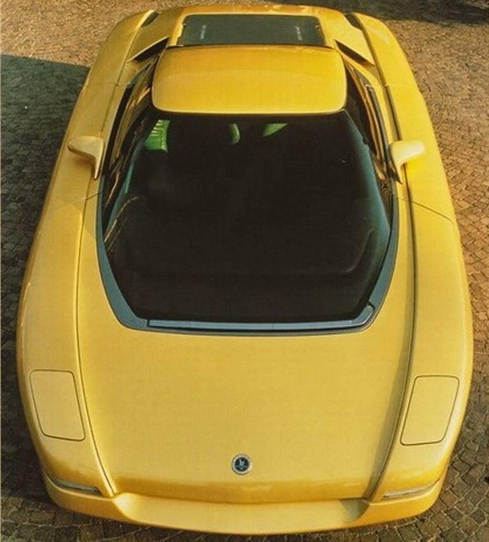 1990 Bertone Nivola concept front end high