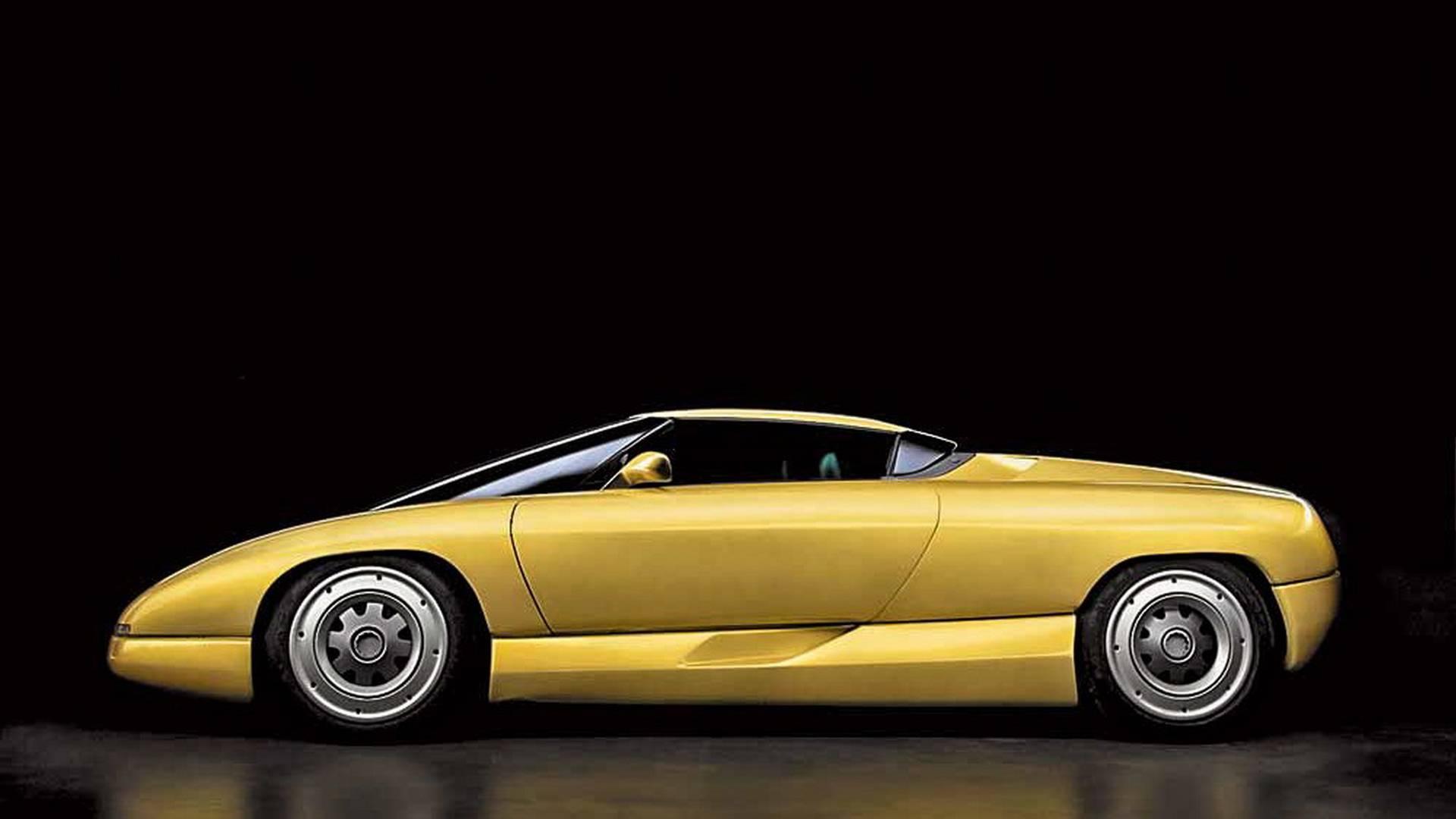 1990 Bertone Nivola concept side profile