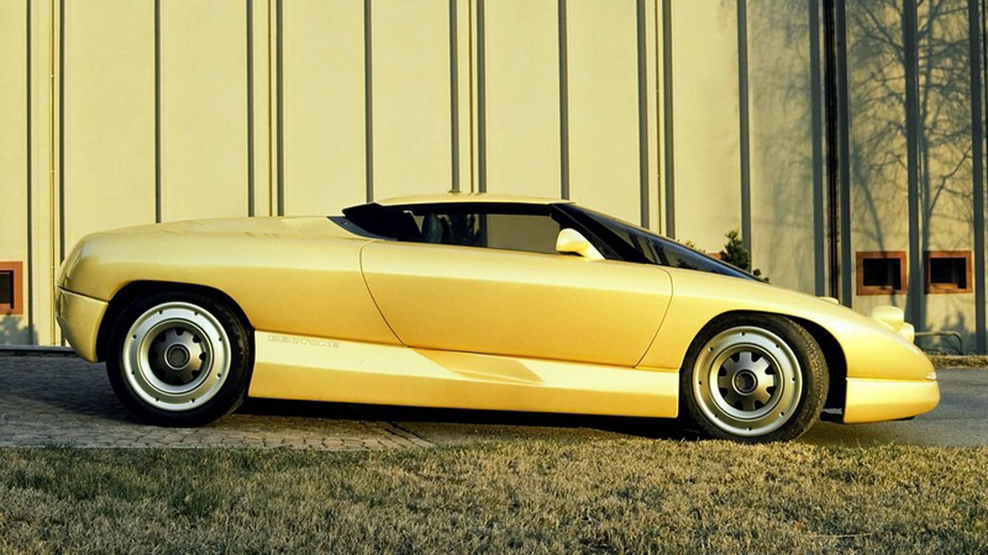 1990 Bertone Nivola concept side profile passenger