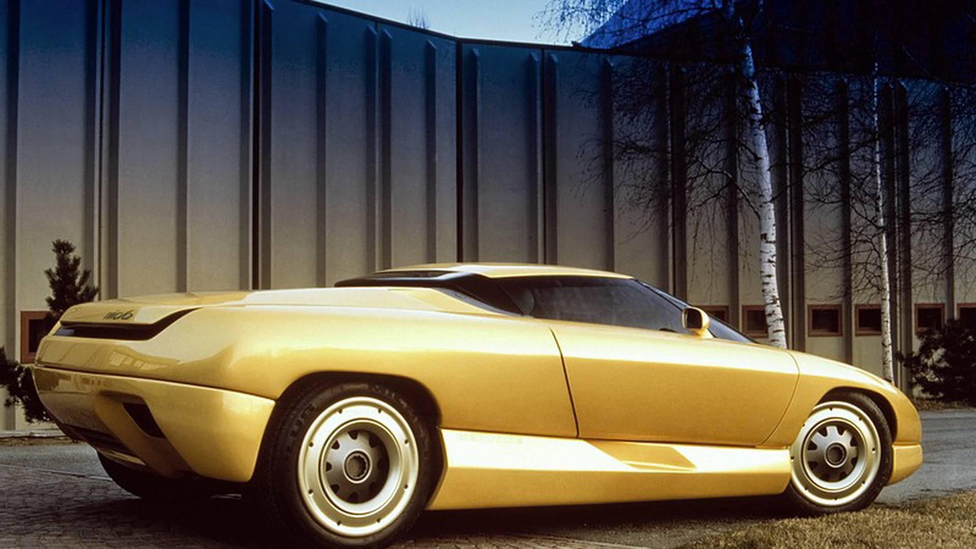 1990 Bertone Nivola concept rear 3/4