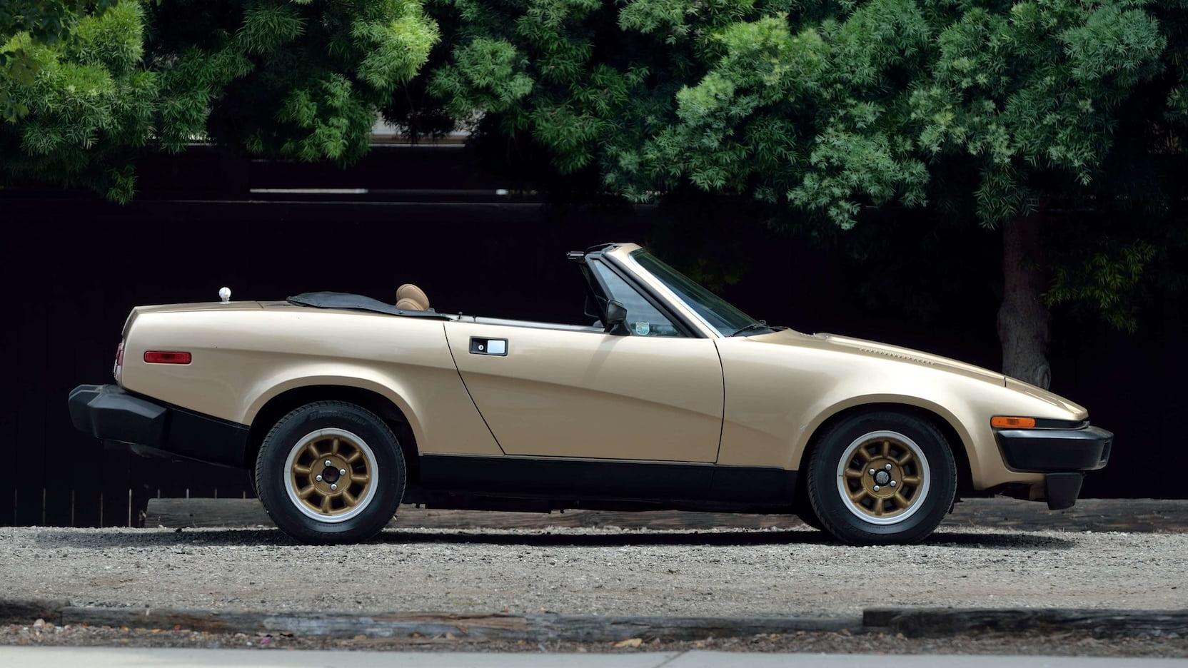 1979 Triumph TR7 passenger side profile